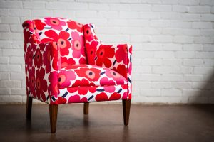 Upholstered Adelaide Marimekko 7