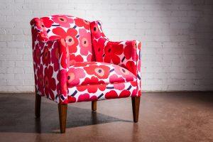 Upholstered Adelaide Marimekko 3